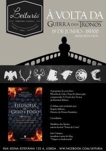 150618 Poster Mesa Redonda à Volta d'A Guerra dos Tronos